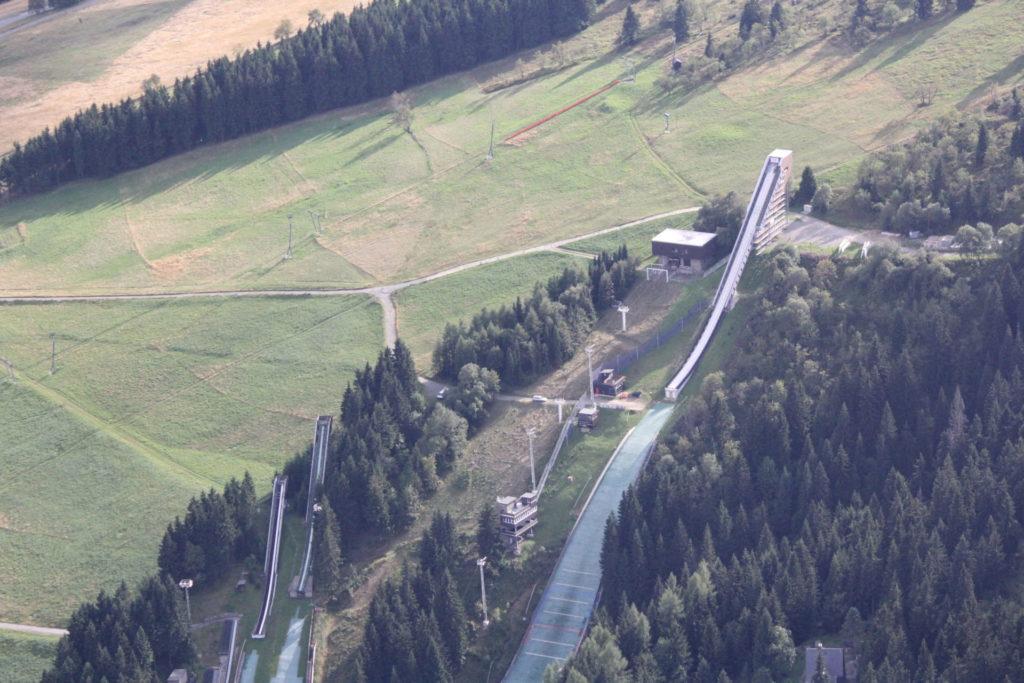 Sprungschanze Oberwiesenthal